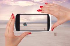 Miami plaży zdjęcie Zdjęcie Stock