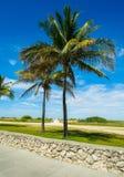 Miami plaża Zdjęcia Royalty Free