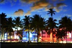 Miami plaża, Floride usa Zdjęcia Royalty Free