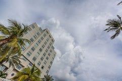Miami, playa del sur, centro de la ciudad y Key Biscayne Imágenes de archivo libres de regalías