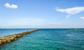 Miami południe plaży krajobraz obraz royalty free