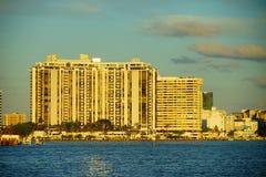 Miami południe plaży luksusowy mieszkanie Obraz Stock