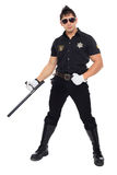 Miami police, the department of morals Royalty Free Stock Images