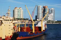 Miami Port Stock Images