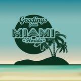 Miami projekt ilustracji