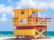 Miami ratownika wierza Zdjęcie Stock
