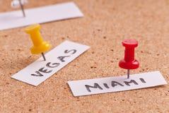 Miami-Reisen-Zieleinheit lizenzfreie stockfotografie