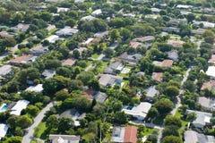 Miami residenziale Fotografia Stock Libera da Diritti