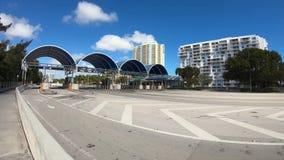 Miami Rickenbacker drogiego na grobli time lapse wideo zbiory