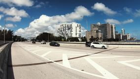 Miami Rickenbacker drogiego na grobli wideo zbiory wideo