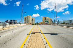Miami River Drawbridge Stock Image