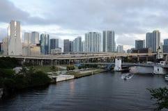Miami River, Florida Stock Photos