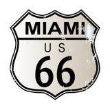 Miami Route 66 stock illustratie