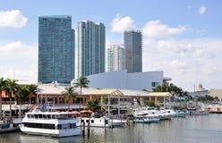Miami Rynek Bayside Fotografia Royalty Free