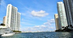Miami rzeka Obrazy Royalty Free