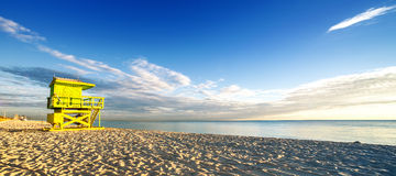 Miami södra strand Royaltyfri Bild