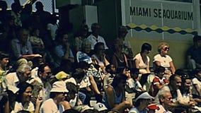 Miami skyddsremsashow arkivfilmer
