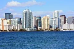 Miami Skyline Royalty Free Stock Image