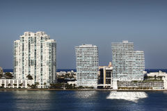 Miami Skyline Royalty Free Stock Photo