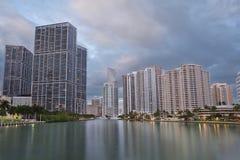 Miami Skyline. Royalty Free Stock Images