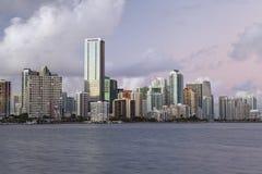 Miami Skyline. Royalty Free Stock Photos