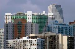 Miami Skyline Royalty Free Stock Photography