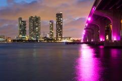 Miami skyline Royalty Free Stock Photo