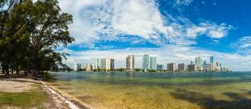 Miami Skyline Stock Photography