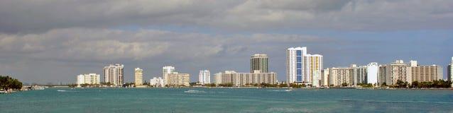 Miami Skyline Royalty Free Stock Images