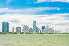 The Miami skyline Royalty Free Stock Photography