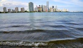 Miami-Skyline, Florida Stockfoto