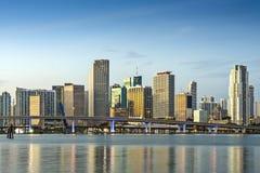Miami Skyline. Skyline of Miami, Florida, USA Royalty Free Stock Image