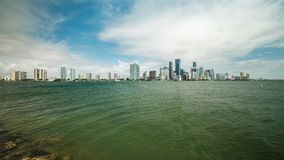 Miami Skyline Time Lapse Video