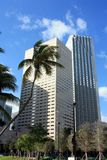 Miami Skyscrapers Royalty Free Stock Images