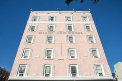 Miami solhotell Royaltyfria Foton