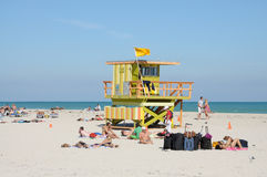 Miami South Beach Royalty Free Stock Images