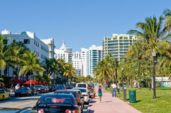 Miami South Beach Royalty Free Stock Photography