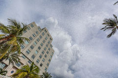 Miami, South Beach, Downtown and Key Biscayne Royalty Free Stock Images