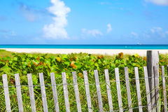 Miami south Beach entrance Florida US Royalty Free Stock Images