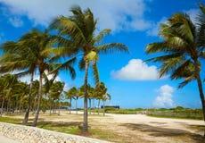 Miami south Beach entrance Florida US Stock Photography