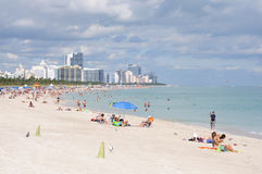 Miami South Beach, Florida Royalty Free Stock Photos