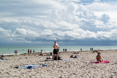 Miami South Beach, Florida Royalty Free Stock Images