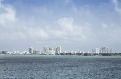 Miami south beach in Florida Royalty Free Stock Image