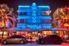 Miami South Beach Hotel Stock Images