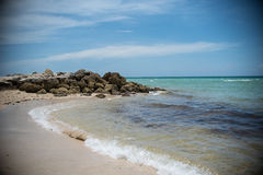 Miami South Beach Landscape Royalty Free Stock Photography