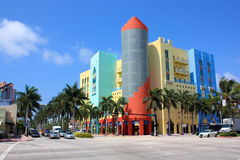 Miami South Beach stores Royalty Free Stock Photography