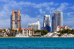 Miami south beachh, Florise, USA Royalty Free Stock Photos