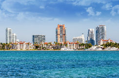 Miami south beachh, Florise, USA Royalty Free Stock Photo