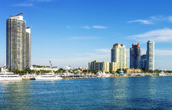Miami south beachh, Florise, USA Royalty Free Stock Photos