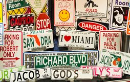Miami souvenirs Stock Photo